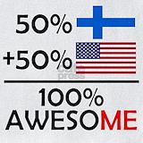 Half finnish half american Bib