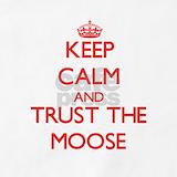 Cartoon moose Aprons