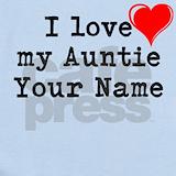 I love my aunt Baby Bodysuits