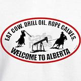 Eat cow drill oil rope calves Sweatshirts & Hoodies