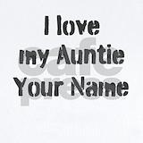 I love my auntie Baby Bodysuits