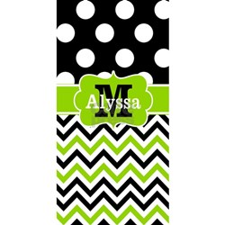Lime green and black bathroom accessories decor cafepress for Black and green bathroom accessories