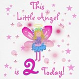 2nd birthday girl T-shirts