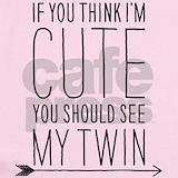 Twin girls Baby Bodysuits