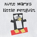 Aunt penguin Bib