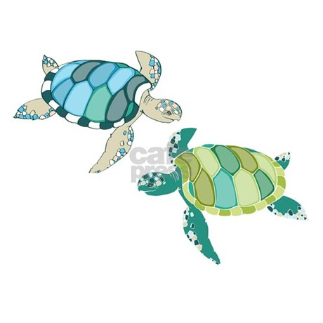 Sea Turtles Shower Curtain. Sea Turtles Shower Curtain