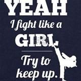 Fight like a girl Sweatshirts & Hoodies
