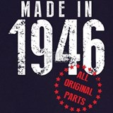 1946 birthday Aprons