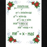 Math christmas Tank Tops