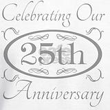 25th wedding anniversary Sweatshirts & Hoodies