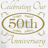 50th wedding anniversary T-shirts