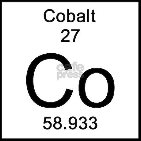 Cobalt Periodic Table Square 26925 Timehd