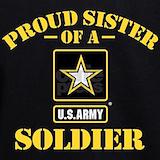 Army sister Sweatshirts & Hoodies