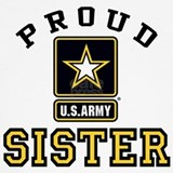 Army sister Tank Tops