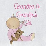 Baby girl grandma Bib