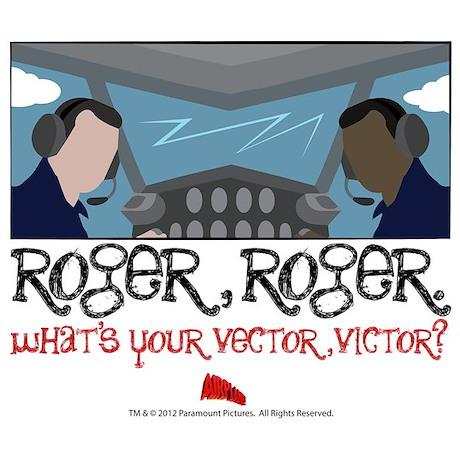Airplane Roger Roger