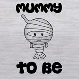 Halloween mummy to be Tank Tops