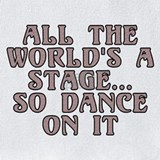 All the world 27s a stage Bib