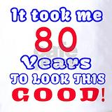 80 th birthday Polos