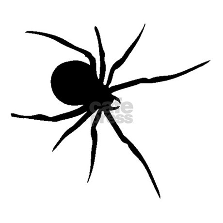 black widow spider silhouette - photo #35
