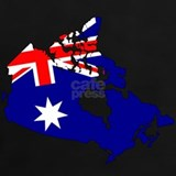 Australia and canada T-shirts