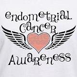 Endometrial cancer T-shirts