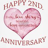 2nd wedding anniversary Underwear & Panties