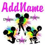 Add name cheer Wall Decals