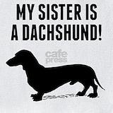 Baby dachshund Bib