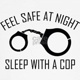 Feel safe at night sleep with a cop Underwear