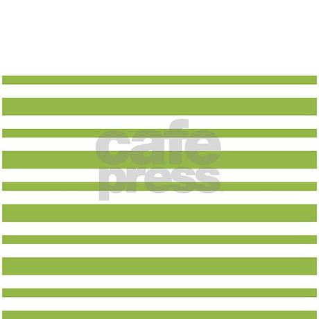 Green Stripe Shower