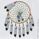Dream catcher Bib