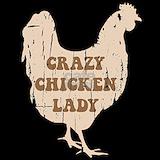 Crazy chicken lady Pajamas & Loungewear