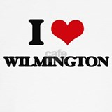 I heart wilmington T-shirts