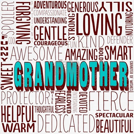 Grandmother Word Cloud Sweater by listing-store-3083734