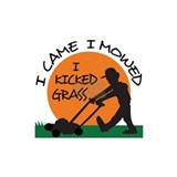 Lawn mower Wall Decals
