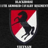 11th armored cavalry T-shirts