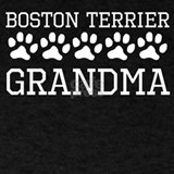 Boston terrier grandma T-shirts