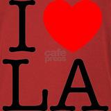 I heart l.a Tank Tops