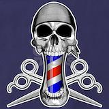 Skull barber Aprons