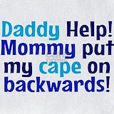 Cape backwards Bib