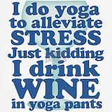 Wine and yoga Underwear & Panties
