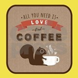 All you need is love and coffee, Aprons