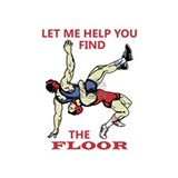Wrestling Wall Decals