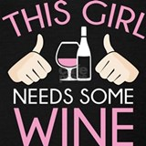 Wine glass Tank Tops