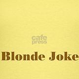 Blonde jokes Tank Tops