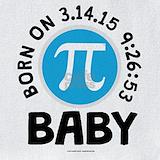 2015 baby pi day Bib