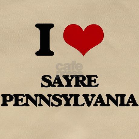 I love Sayre Pennsylvania Messenger Bag by Admin_CP10501932