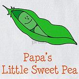 Papa sweet pea Bib
