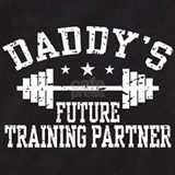 Daddy\'s training Baby Bodysuits